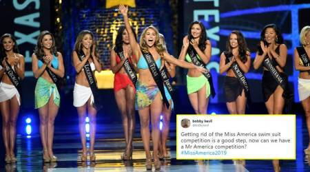 Miss America says NO to swimsuit round; Twitterati ask 'Can we have MrAmerica?'