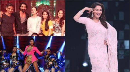 Miss India 2018 finale: Kareena Kapoor Khan, Madhuri Dixit and Jacqueline Fernandez rehearse for the gala night