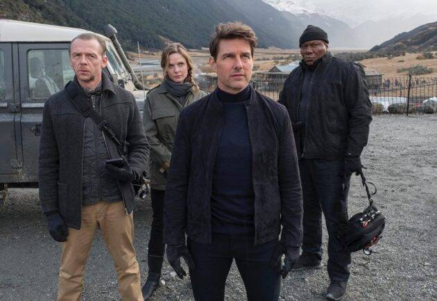 tom cruise, simon pegg in mission impossible fallout