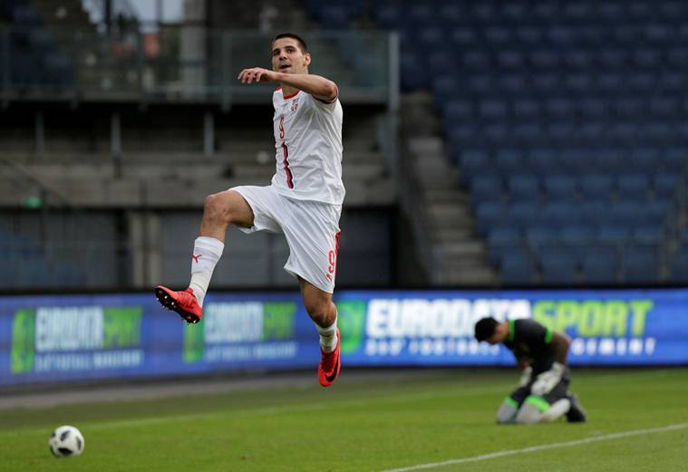 Aleksander Mitrovic treble helps Serbia to 5-1 rout of Bolivia