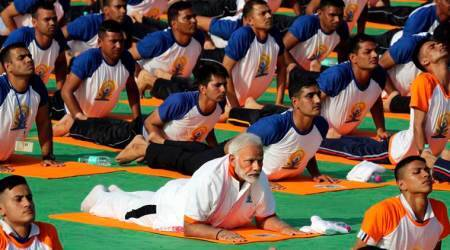 International Yoga Day 2018 LIVE: Over a lakh people and counting, Rajasthan's Kota breaks into Guinness World Record