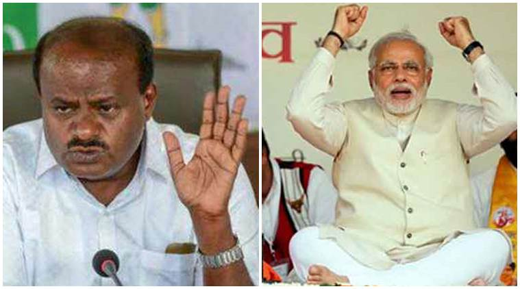 Kumaraswamy rejects Modi's fitness challenge