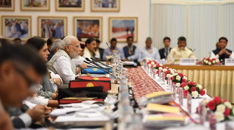 PM Narendra Modi chairs NITI Aayog meet, talks about vision of 'New India-2022