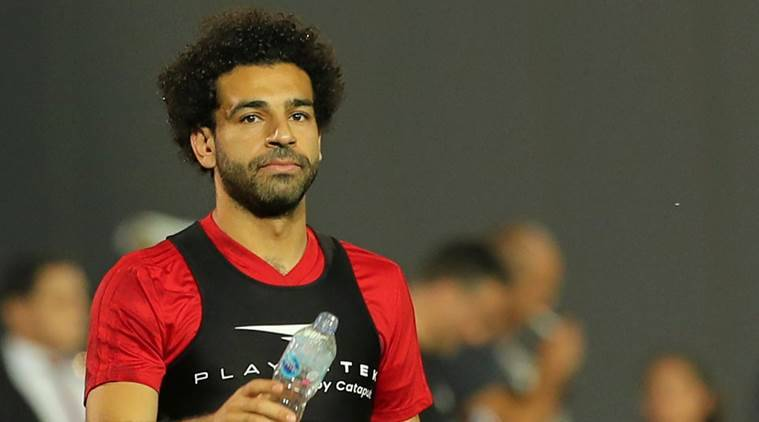 Mohamed Salah watches on as Egypt lose to Uruguay late on