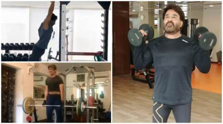 Mohanlal, Jr NTR, Naga Chaitanya and Nagarjuna accept Fitness Challenge, see videos