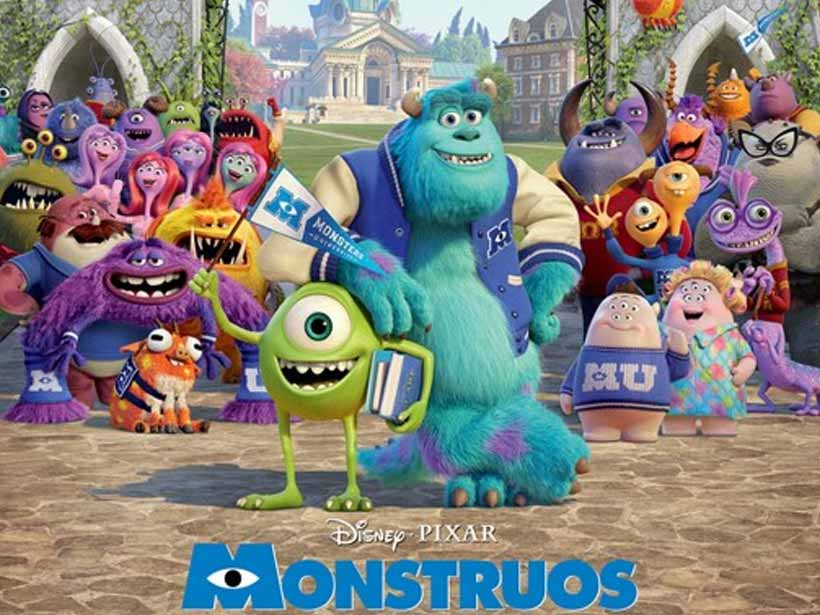 WALL-E, The Jungle Book, The Incredibles, Monsters inc, Lion King, High School Musical, Cars, Finding Nemo