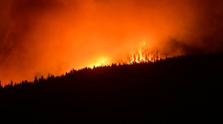 Colorado wildfire, wildfire in Colorado, wildfire, colorado evacuation, Wildfire, spring creek fire, World news, Indian Express News