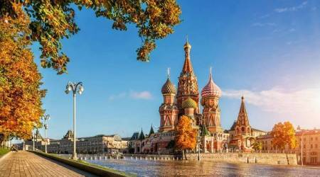 FIFA 2018, Moscow, Russian capital, Moscow tourist attractions, fun facts about Moscow, St Basil Cathedral, Lenin's Mausoleum, Moscow Kremlin, State Historical museum, Gum, Gorky park, indian express, indian express news