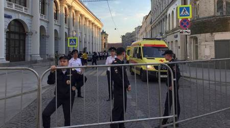 Taxi crashes into crowd in Moscow, injures eight: What we know so far