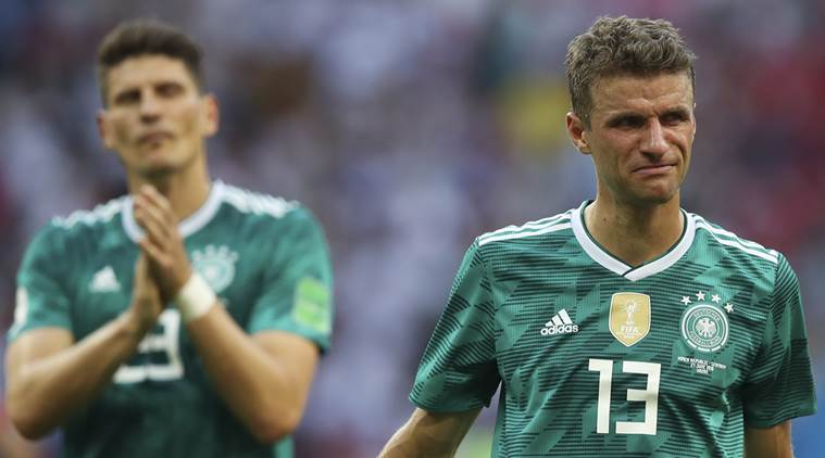 FIFA World Cup 2018: Germany crash out in the group stage after 2-0 loss to South Korea