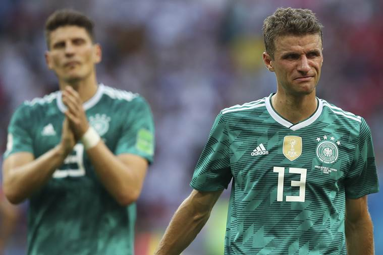 FIFA World Cup 2018  Germany knocked out in group stage after 2-0 ... 6460fc2ee