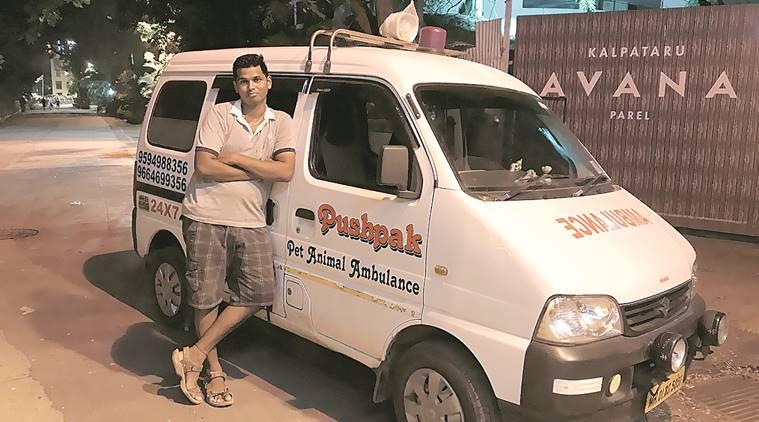Mumbai: Love for animals made 25-year-old start ambulance service