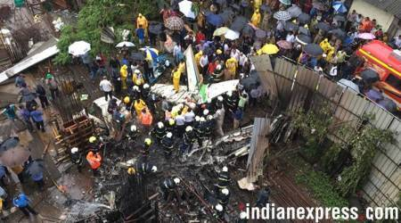 Mumbai plane crash: Residents say plane hit cables, probe team says still collecting evidence