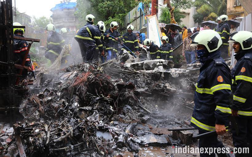 Mumbai chartered plane crash kills 5