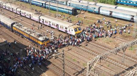 West Bengal: Locals block tracks over youth's death, trainsdelayed