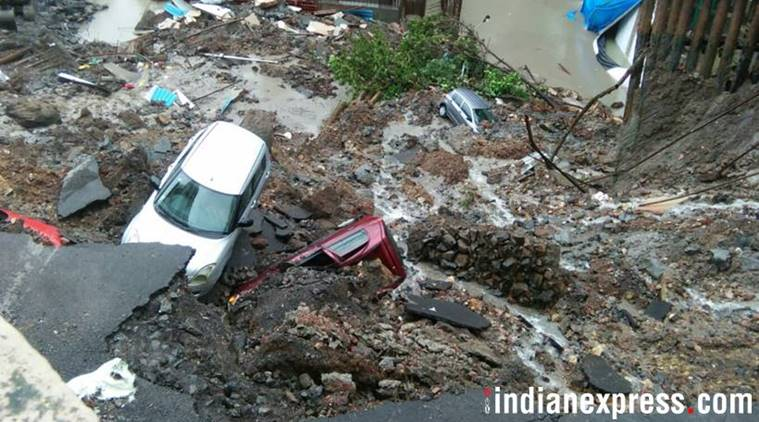 Million people have been displaced by heavy monsoon rains, floods and landslides in India.