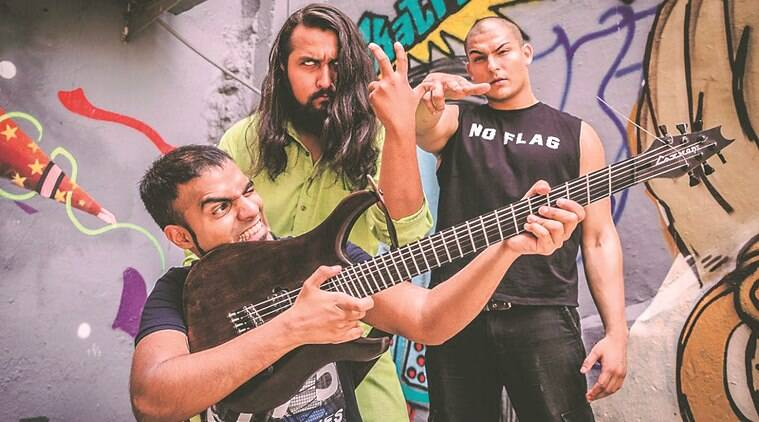 Sounds like Metal bloodywood, delhi music ban