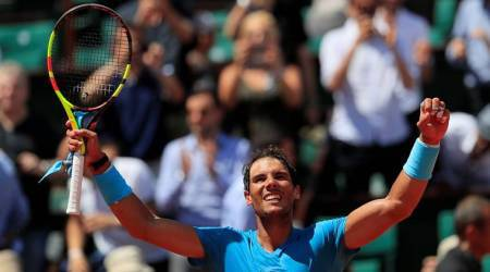 French Open 2018: Rafa Nadal recovers after dropping first set to march intosemi-finals