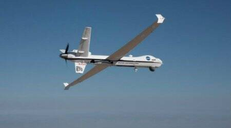 NASA's remotely-piloted Ikhana aircraft flies solo through US airspace
