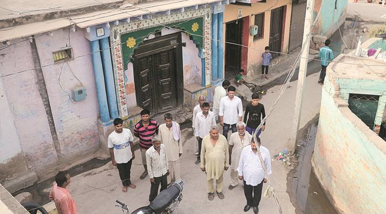 In Two neighbouring Faridabad villages, national anthem comes via speakers