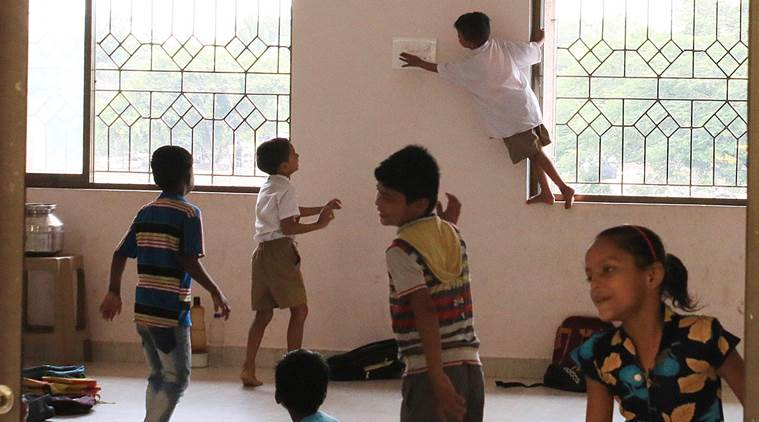 No blackboards, benches in schools built for children displaced by Navi Mumbai Airport project