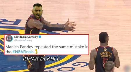 NBA Finals: LeBron James' expression is now an epic meme to describe frustratingsituations