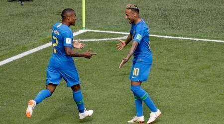 Brazil vs Costa Rica FIFA World Cup 2018: Neymar, Brazil break Costa Rica defence, top Group E