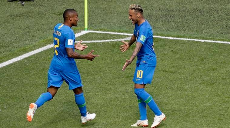 Brazil vs Costa Rica FIFA World Cup 2018: Neymar, Brazil