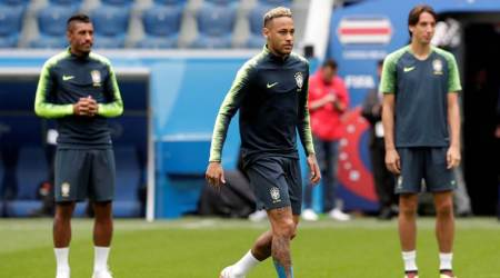 FIFA World Cup 2018: Neymar to start in unchanged Brazil team to face Costa Rica