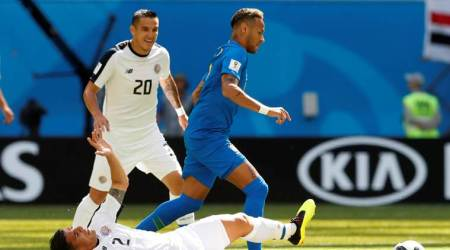 Brazil vs Costa Rica Live Score, FIFA World Cup 2018 Live Streaming: Brazil 0-0 Costa Rica after first half