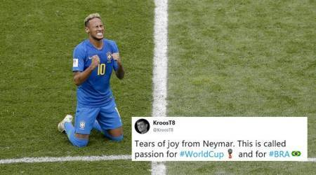 FIFA World Cup 2018: Brazil's win against Costa Rica turns Neymar and Tweeple emotional