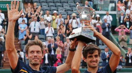 Nicolas Mahut celebrates French Open title in adorable moment with son; watch video