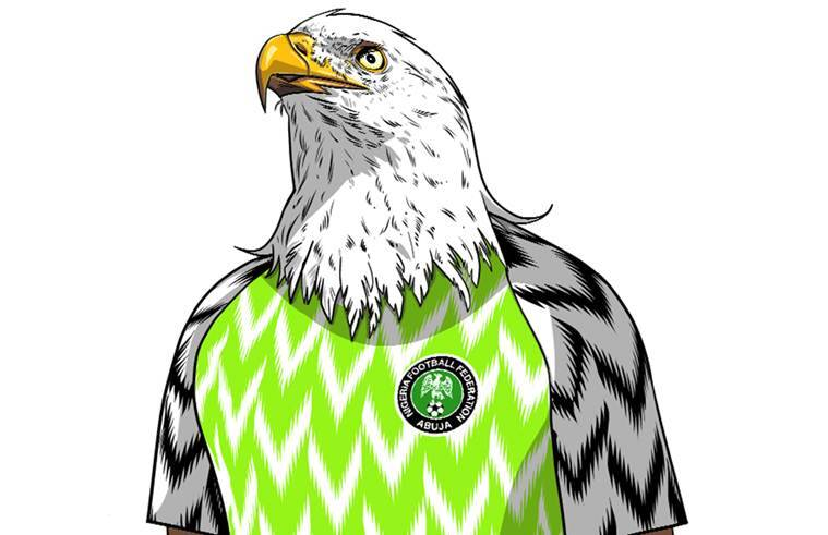 reputable site 565bd e7a63 FIFA World Cup 2018: Nigeria jerseys Super Eagles fly off ...