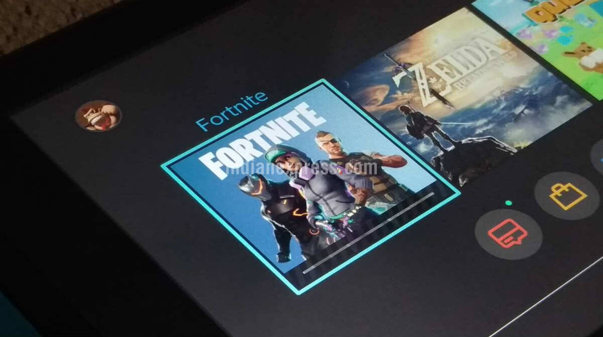 E3 2018 Fortnite Is Now Available For Free On Nintendo Switch Technology News The Indian Express