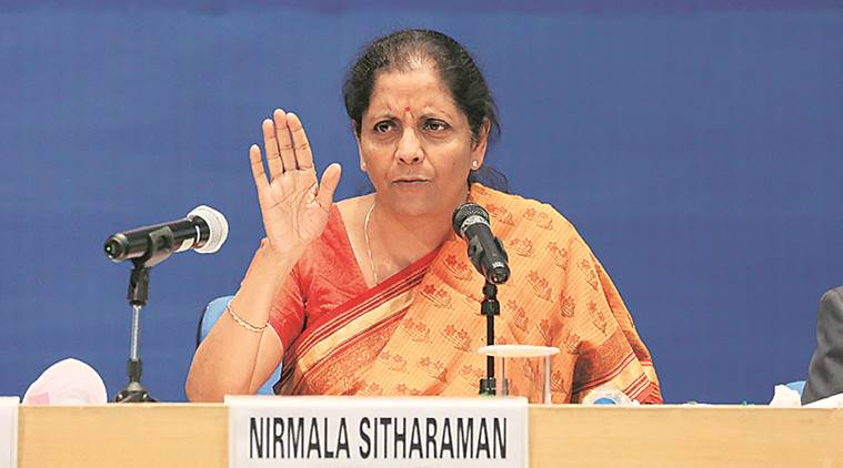 narendra modi, Nirmala Sitharaman, GST, tamil nadu, k paliniswamy, Goods and services tax, Indian economy, India news, indian express news