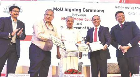 Nissan, Kerala govt ink pact to set up global centre of digital ops