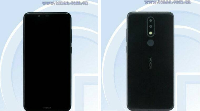 nokia, nokia 5.1 plus, nokia 5.1 plus specifications design spotted on tenaa, nokia 5.1 plus specifications, nokia 5.1 plus features, nokia 5.1 plus price, nokia 5.1 plus price in india, android, hmd global