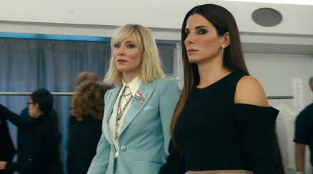 Ocean's 8 to lead the opening weekend at US box office with estimated 41 milliondollars