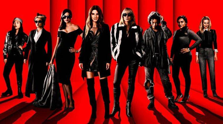 oceans 8 domestic box office