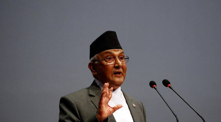 Nepal PM Oli China visit