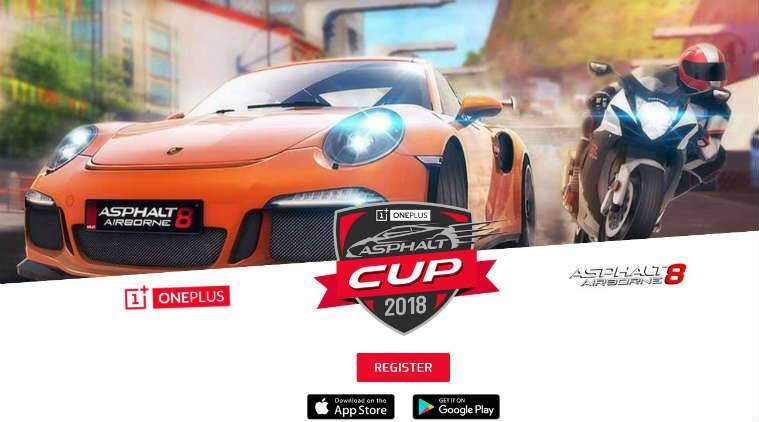 OnePlus, OnePlus Asphalt Cup, OnePlus 6 price in India, OnePlus Bullets wireless headphones, Asphalt 8: Airborne, OnePlus 6 specifications, OnePlus 6 availability, OnePlus 6 discounts, Gameloft, OnePlus India