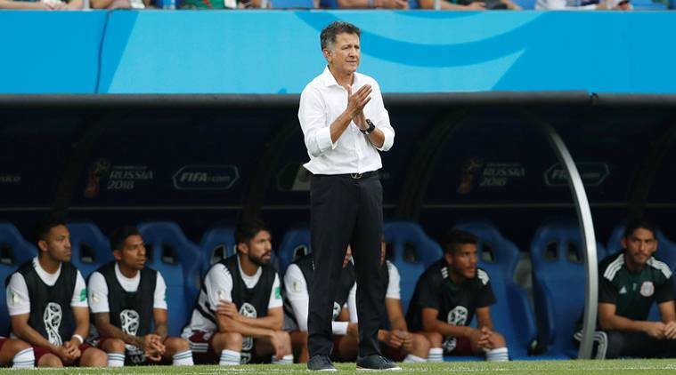 Mexico coach, mexico, Juan Carlos Osorio, fifa world cup, world cup 2018, russia world cup, colombia, liverpool, fifa news, sports news, indian express