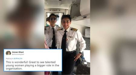 These two women pilots from Pakistan fly the rough route of Gilgit; Twitterati hail women empowerment
