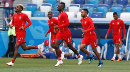 FIFA World Cup 2018: Panama pick same team for tougher test againstEngland