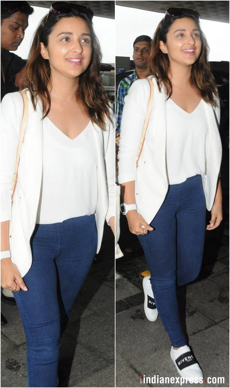 Best airport looks, Best airport looks bollywood, Priyanka Chopra, Parineeti Chopra, Kajol, Shraddha Kapoor, Swara Bhaskar, celeb fashion, bollywood fashion, indian express, indian express news