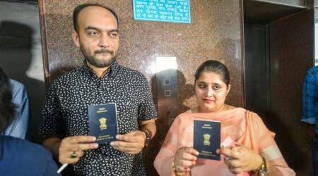 Passport official shifted for harassing inter-faith couple, 'witness' backs him