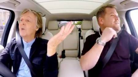 WATCH: Paul McCartney's carpool karaoke with James Corden is making Beatles fans emotional