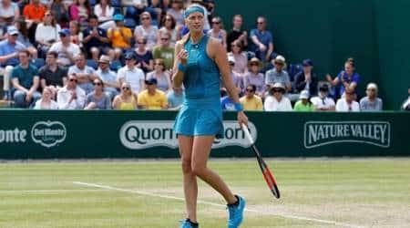 Defending champion Petra Kvitova races into Birminghamfinal