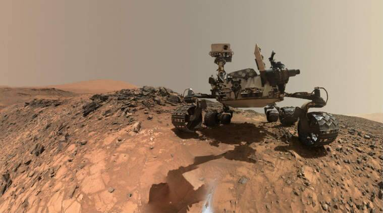 Curiosity Finds Ancient Organic Compounds That Match Meteoritic Samples