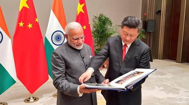 PM Modi today had detailed discussions with Xi on bilateral and global issues on the sidelines of the Shanghai Cooperation Organisation (SCO) summit here